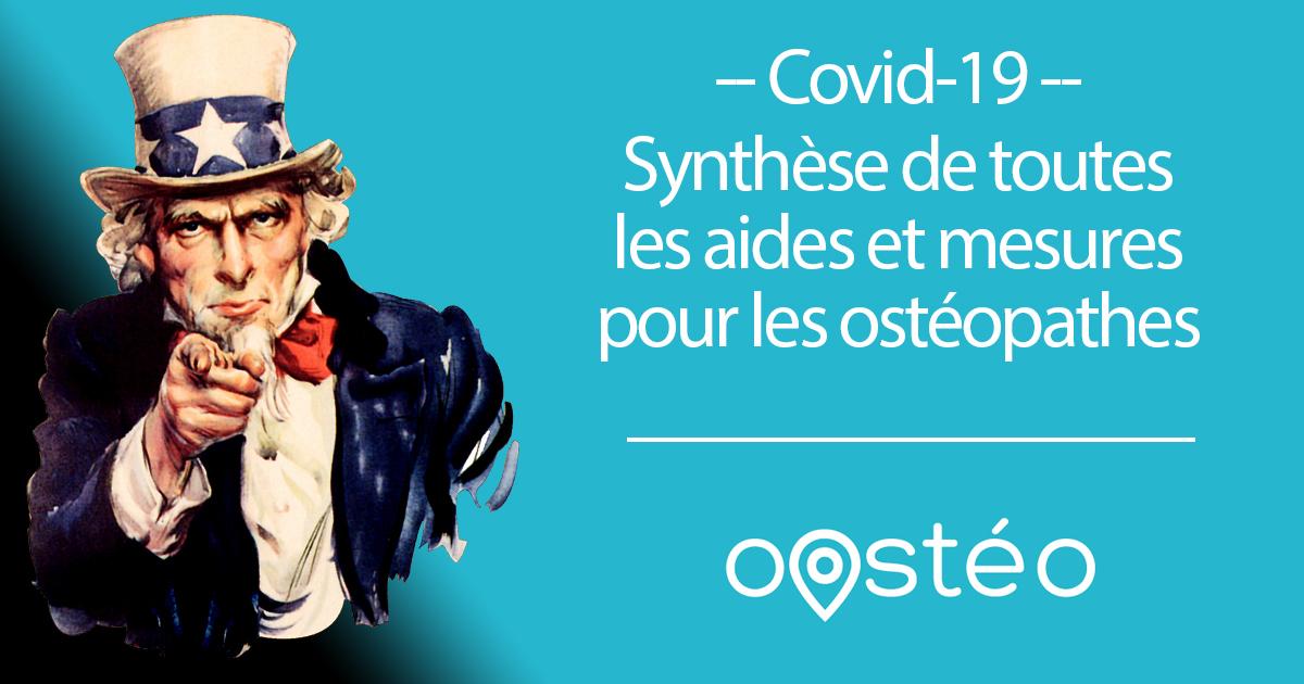 aide osteopathe covid