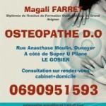 Ostéopathe Le Gosier