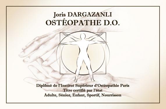 Ostéopathe - Ouistreham - Joris Dargazanli