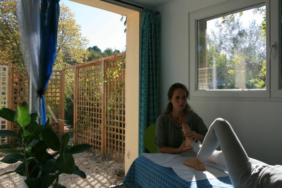 Ostéopathe - Nyons - Sandrine Guidoni