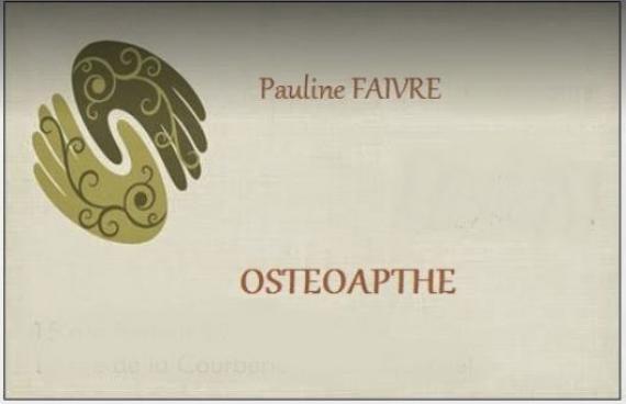 Ostéopathe - Lamballe - Pauline Faivre