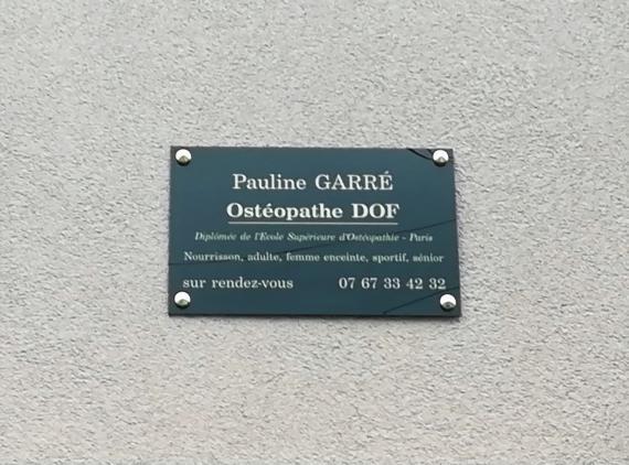 Ostéopathe - Crosne - Pauline Garré