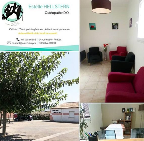 Ostéopathe - Aubord - Estelle Hellstern