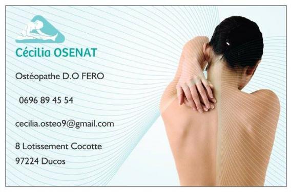 Ostéopathe - Ducos - Cécilia Osenat