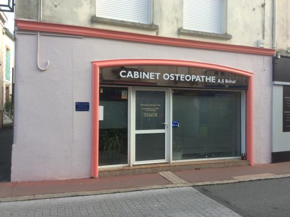 Ostéopathe - Vallet - Anne-Sophie Behal