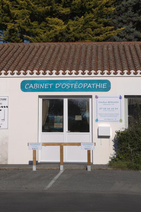 Ostéopathe - Noirmoutier-en-l'Île - Candice Bernard